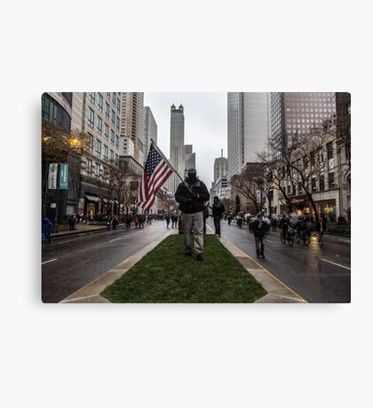 American Man Canvas Print