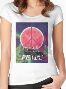 Peace - Delicious Women's Fitted Scoop T-Shirt