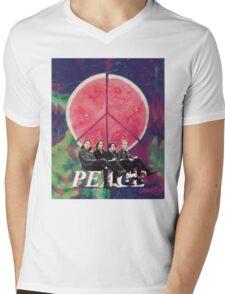 Peace - Delicious Mens V-Neck T-Shirt