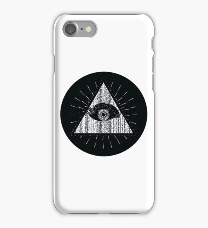 EYE DONT KNOW iPhone Case/Skin