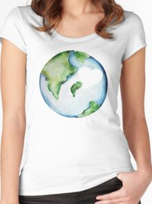 Love the Mother Earth Day Women's Fitted Scoop T-Shirt