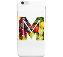 The Letter M - Fruit iPhone Case/Skin