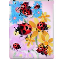 Lucky-Love Ladybugs iPad Case/Skin