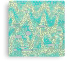 Camel Green Scales Canvas Print