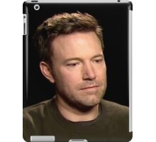 Sad Affleck iPad Case/Skin