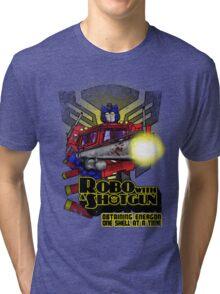 Robo With A Shotgun Tri-blend T-Shirt