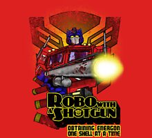 Robo With A Shotgun Unisex T-Shirt