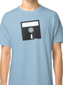 3 INCH Floppy Disk DRIVE Old skool geekery Classic T-Shirt