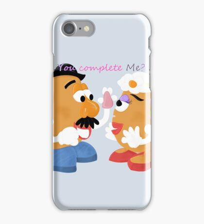 Mr and Mrs Potato Head- You Complete Me? iPhone Case/Skin