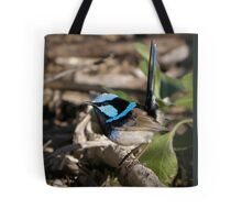 Large image variegated wren Tote Bag