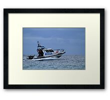 Marine Rescue New South Wales Framed Print