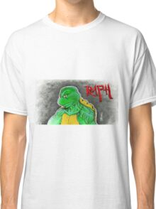 """The Angry One - Raphael""  Classic T-Shirt"