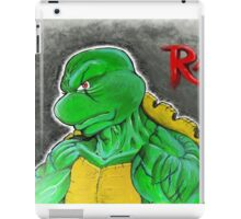 """""""The Angry One - Raphael""""  iPad Case/Skin"""