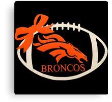 Denver Broncos Canvas Print