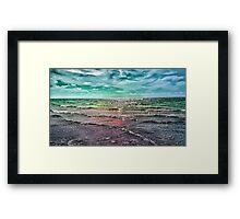 .Rainbow Waters Framed Print