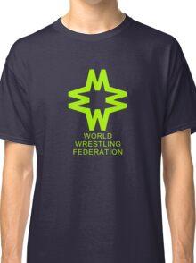 Vintage W.W.F. Logo t-shirt Classic T-Shirt