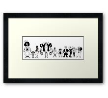 Fleischer pirates Framed Print