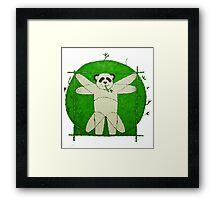 Da Vinci Panda Framed Print