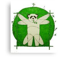 Da Vinci Panda Canvas Print