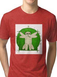 Da Vinci Panda Tri-blend T-Shirt
