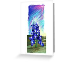 """The Last Bluebonnet""  Greeting Card"