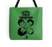 Kiss Me, I'm a Timelord Tote Bag
