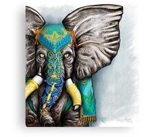 """""""Elegant Elephant"""" Canvas Print"""
