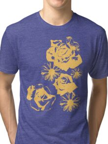 Roses and a Daisy Tri-blend T-Shirt
