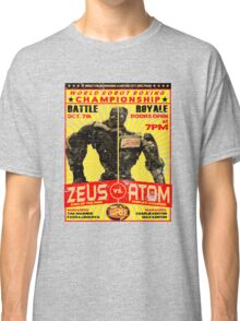 Atom vs. Zeus Classic T-Shirt