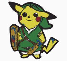 The Legend of Pikachu Kids Tee