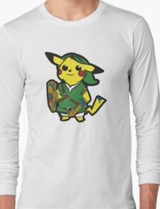 The Legend of Pikachu Long Sleeve T-Shirt