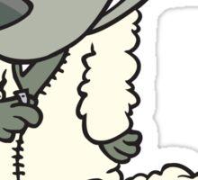 Wolfsburg Golf R, Wolf in Sheep's Clothing Sticker