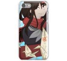 That Shade of Your Flowing Hair iPhone Case/Skin
