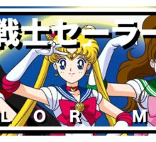 Sailor Moon and Friends Sticker