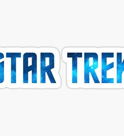 Star Trek Title (Stars) Sticker