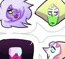 Steven Universe headshots  Sticker