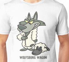 Wolfsburg Wagon, Wolf in Sheep's Clothing Unisex T-Shirt