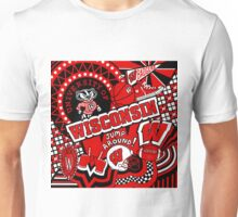 Wisconsin Collage Unisex T-Shirt