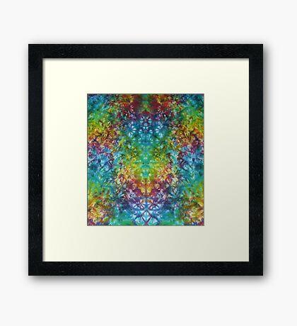 Yummy Tie-Dyes Framed Print
