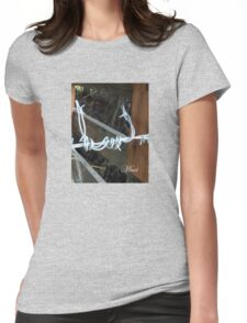 bob wire fence #2 Womens Fitted T-Shirt