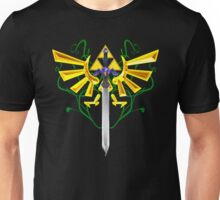 Master Sword and Triforce Unisex T-Shirt