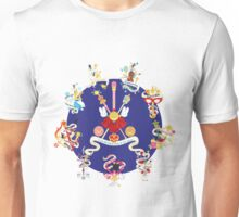 Sailor Senshi Banners 2 Unisex T-Shirt