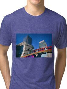 Canary Wharf Commute Tri-blend T-Shirt