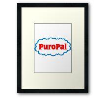 PuroPal Framed Print