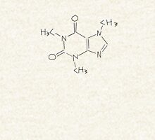 Caffeine Chemical Structure (Alternative Sketch Version) Pullover