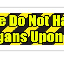 Organ Don'ter - Yellow Sticker