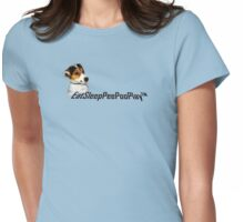 EatSleepPeePooPlay™ Womens Fitted T-Shirt