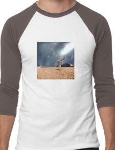 Left Behind  Men's Baseball ¾ T-Shirt