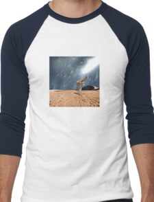 Left Behind - Anne Winkler Men's Baseball ¾ T-Shirt