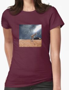 left behind.... by Anne Winkler Womens Fitted T-Shirt